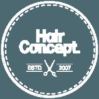 frisörsalong hairconcept logga